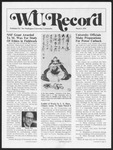 Washington University Record, March 2, 1978