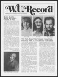 Washington University Record, March 16, 1978