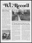Washington University Record, March 30, 1978