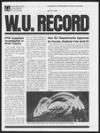 Washington University Record, April 13, 1978