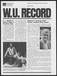 Washington University Record, April 20, 1978