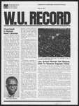 Washington University Record, May 18, 1978