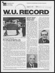 Washington University Record, August 31, 1978