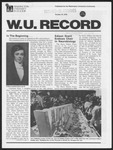 Washington University Record, October 19, 1978