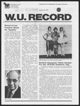 Washington University Record, October 26, 1978