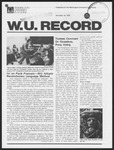 Washington University Record, December 14, 1978