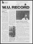 Washington University Record, March 1, 1979