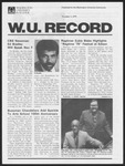 Washington University Record, November 1, 1979