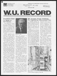 Washington University Record, October 30, 1980