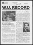 Washington University Record, November 20, 1980
