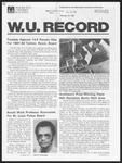 Washington University Record, February 19, 1981