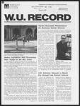 Washington University Record, March 5, 1981