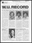 Washington University Record, March 26, 1981