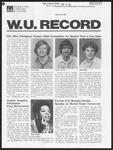 Washington University Record, March 26, 1981
