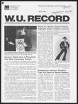 Washington University Record, April 23, 1981