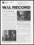 Washington University Record, April 30, 1981