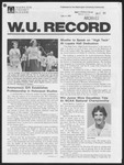 Washington University Record, June 4, 1981