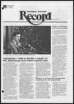 Washington University Record, September 10, 1981