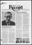 Washington University Record, September 24, 1981