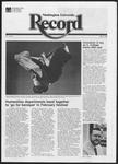 Washington University Record, April 15, 1982