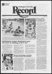 Washington University Record, August 5, 1982