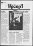 Washington University Record, September 9, 1982