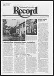 Washington University Record, November 18, 1982
