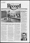 Washington University Record, December 2, 1982
