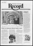 Washington University Record, December 16, 1982
