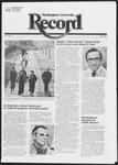 Washington University Record, January 27, 1983