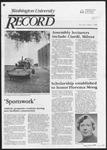 Washington University Record, September 1, 1983