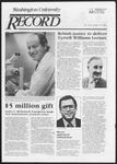 Washington University Record, September 15, 1983