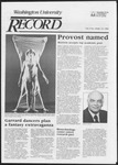 Washington University Record, September 22, 1983