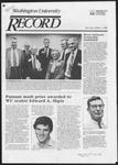 Washington University Record, December 1, 1983