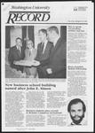 Washington University Record, April 19, 1984