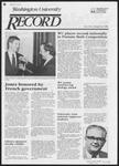 Washington University Record, April 26, 1984