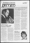 Washington University Record, May 10, 1984