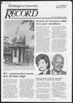 Washington University Record, September 20, 1984