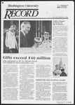 Washington University Record, September 27, 1984