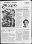Washington University Record, October 18, 1984