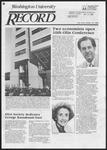 Washington University Record, October 25, 1984