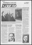 Washington University Record, November 8, 1984