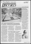 Washington University Record, November 29, 1984