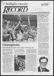 Washington University Record, December 13, 1984