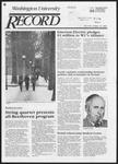 Washington University Record, January 24, 1985