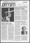 Washington University Record, January 31, 1985