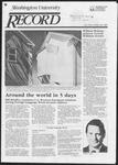 Washington University Record, February 28, 1985