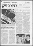 Washington University Record, March 28, 1985