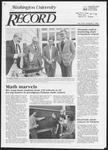 Washington University Record, April 4, 1985