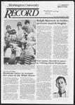 Washington University Record, April 11, 1985